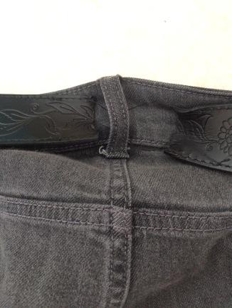My belt ...
